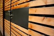 Lines - Wood Door