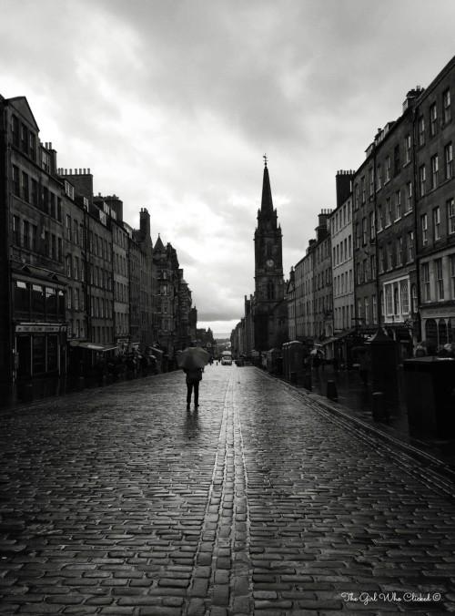 Edinburgh In The Rain by TGWC Chloe-2