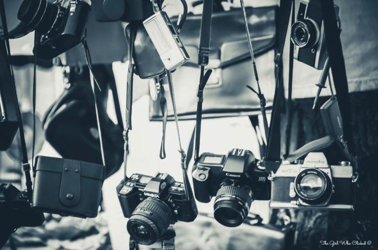 Vintage Cameras by TGWC Chloe