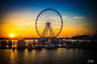 Sunset at National Harbor by TGWC Chloe
